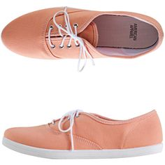 American Apparel Unisex Tennis Shoe ($32) ❤ liked on Polyvore