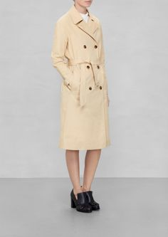 & Other Stories | Cotton Trenchcoat