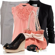Simple Style for a Gorgeous Look : 31 Casual Work Outfits Polyvore Ideas