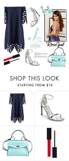"""on the blue scale"" by fernandayanez ❤ liked on Polyvore featuring Stuart Weitzman, Proenza Schouler, Gucci and Nadri"