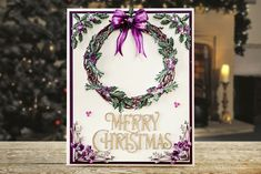 Buy Tattered Lace Over the Mantelpiece Die Collection from the die-cutting range at Create and Craft. Christmas Cards To Make, Xmas Cards, Tattered Lace Cards, Christmas Preparation, Create And Craft, Card Maker, Lace Design, Christmas Projects, Birthday Cards