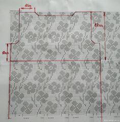 Sewing Patterns, Crochet Patterns, Crochet Videos, Filet Crochet, Crochet Clothes, Cross Stitch, Crocheting Patterns, Beachwear Fashion, Craft