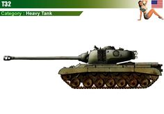 heavy tank t32 | Vehicles/Allies/USA/03-HeavyTanks/SuperHeavyTanks/T32.htm | Up-dated:
