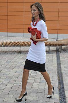 Isabel Preysler, en la Universidad de Comillas