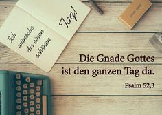 """Postkarte """"Ich wünsche dir einen schönen Tag!"""" Bible Quotes, Bible Verses, Bible Pictures, Quotes About God, Study Tips, God Is Good, Gods Love, Prayers, Funny Quotes"""