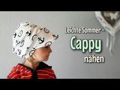 """Sommermütze / Bandana nähen """"NINA"""" - für Nähanfänger - Schnitt und Anleitung - YouTube"""