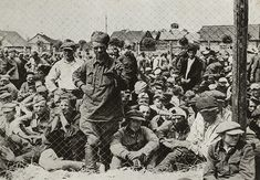 Russian soldiers in a concentration camp 21st July 1941. Pin by Paolo Marzioli