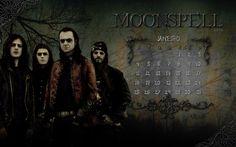 Moonspell - Academic Work - Digital Wallpaper/Calendar 2010