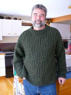 Ravelry: Project Gallery for John's Sweater pattern by Norah Gaughan