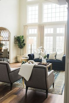 Classic living room space