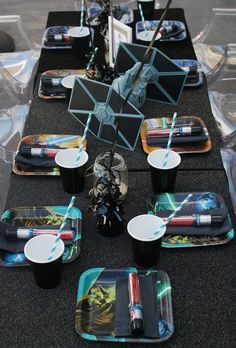 This is the cutest kids Star Wars party, featured on Amy Atlas