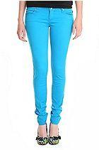 Tripp Turquoise Skinny Jeans Sku 245103