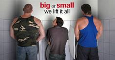 Big or small  we lift it all