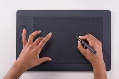 The innovative Wacom Intuos Pro pen tablet combines Wacom's finest pen capabilities and intuitive multi-touch gestures. It gives you the power to produce professional results with the precision and control you demand from your professional software. Designed for creative work, it delivers a natural and intuitive experience that extends your creative capabilities. http://store.wacom.com - http://shop.wacom.eu