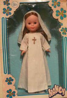 Girl Doll Clothes, Girl Dolls, Nuns Habits, American Girl, Nancy Doll, Old Toys, Costume, Vintage Dolls, My Childhood