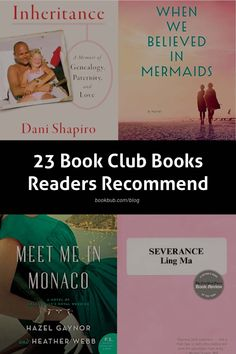 23 of the best book club books worth reading next, according to our readers. #books #bookclub #bookclubbooks