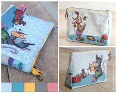 Art For Kids, Lunch Box, The Incredibles, Blog, Diy, Fabric Panels, Crafts, Sewing, Bags