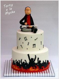 musician - Cake by Myska