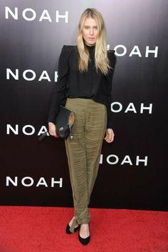Praying for a Hit at 'Noah' Premiere  Dree Hemingway