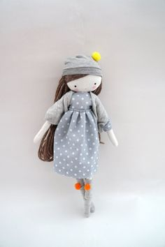 Custom order for Leeorah Handmade rag doll by lassandaliasdeana