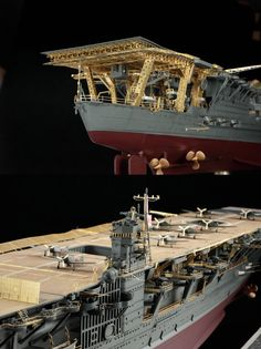 1/350scale IJN AIRCRAFT CARRIER AKAGI 2