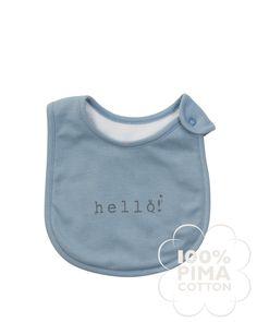 Snap Bib Baby Sale, Baby Bibs, Cotton, Blue, Bibs