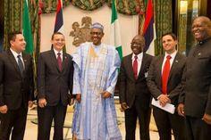 nodullnaija: President Buhari today received special envoy of t...