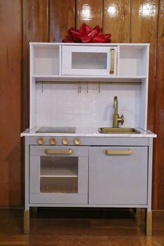 Ikea play kitchen hack | Ahrens at Home