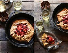 honey balsamic strawberry galette by hannah * honey & jam, via Flickr