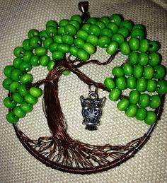 arbol de  la  vida. verde-