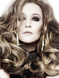 """Lisa Marie Presley: """"I was just nine when my father [Elvis Presley] died, but I had a very special relationship with him. He was the most incredible, enigmatic, powerful, dynamic human being I've ever met. As far as men go, he left big shoes to fill. He is still such a presence in popular culture, but I don't find it odd or surreal – it makes me happy, actually."""""""