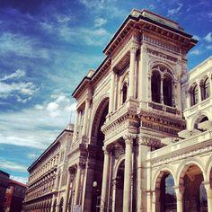 Galleria Vittorio Emanuele  #milano #milan #italia #italy #arch #gallery #palace #monument