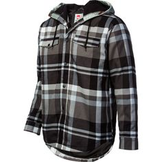 Quiksilver Dock Riding Flannel Shirt - Long-Sleeve - Men's