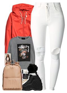 """""""• Hey There x Def Loaf ft. Future"""" by tweetiebabiee ❤ liked on Polyvore featuring H&M, Stussy, (+) PEOPLE, NIKE, 3.1 Phillip Lim, Cartier, NARS Cosmetics and Topshop"""