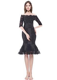 9ffb08f8a698 Judi Dench  Donna elegante abito da sera in pizzo abito al ginocchio  damigella d
