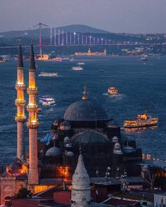 Istanbul City, Istanbul Travel, Istanbul Turkey, Travel Around The World, Around The Worlds, Hagia Sophia Istanbul, Destinations, Beautiful Mosques, Islamic Architecture