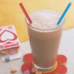 Double-Chocolate Malted - Delish.com For the best old fashion milk shake use malt powder  4	 scoops chocolate ice cream 1	 cup(s) milk 3	 tablespoon(s) chocolate syrup 3	 tablespoon(s) malted milk powder