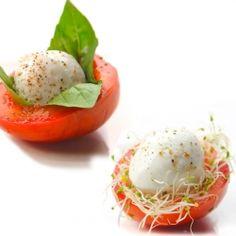 Mozzarella Nests