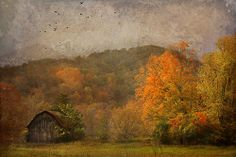 Blustery Fall Day by Distressed Jewel..her work is fabulous.