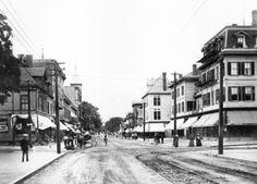 Downtown North Attleboro, MA 1896 North Attleboro, My Town, Massachusetts, Bristol, New England, Poem, Roots, Lisa, Street View