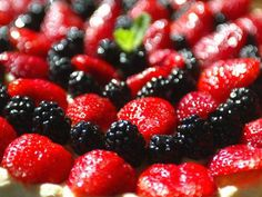 Frutas vermelhas e antioxidantea