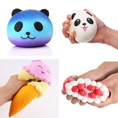 Gags & Practical Jokes Squeeze Squishy Slime Funny Squishys Brinquedos Spongy Rainbow Ball Toy Squeezable Stress Squishy Toy Stress Relief Ball For Fun Factories And Mines