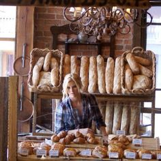 "Holy cow! Looking thru ""Durango, Colorado"" and this picture of my daughter came up!!  Love you, Sweetie!!!  Jean Pierre bakery in Durango, Colorado."