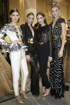 ZUHAIR MURAD COUTURE BACKSTAGE | Studded Hearts
