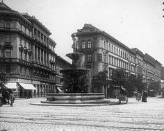 Kálvin tér. Amikoe még szép volt. Old Pictures, Old Photos, Capital Of Hungary, Most Beautiful Cities, Budapest Hungary, Capital City, Historical Photos, Vintage Images, The Past