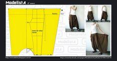 A calça de origem oriental está vindo cada vez com mais força. A saruel tem um gancho bem baixo e é ideal pradias mais quentes, já que são...