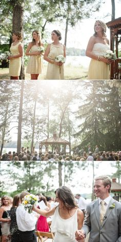 Wisconsin Lake Wissota Wedding from Paper Antler | Style Me Pretty