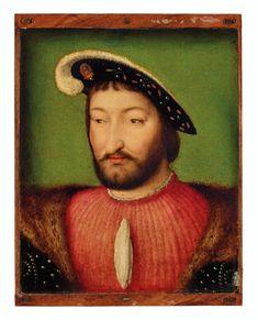 CIRCLE OF JOOS VAN CLEVE (?CLEVE C. 1485-1540/1 ANTWERP) Francis I, Philadelphia Museum Of Art, Leiden, Old Master, Art Museum, Van, Portrait, Auction, Painting