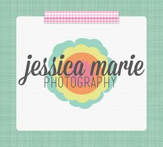 Premade Logo and Watermark Design - Photography Logo / Business Logo - Mod Flower Design by SimplyBrenna, $10.00