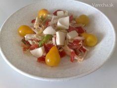 Zeleninový šalát s mozarelou ( fotorecept )